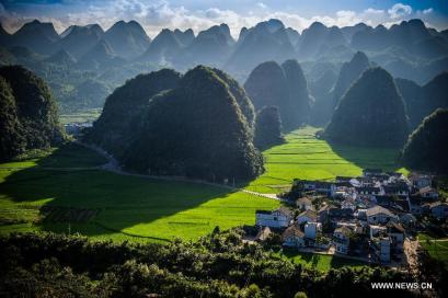 There are dozens of minority villages in Guizhou province, and many of them are nestled in the mountains.