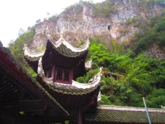 A pagoda with Guizhou mountains in the background :)