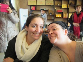 Lexie and I....notice the look of giddiness on my face....that's what I refer to as my 'caffeine face' lol!
