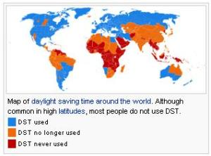 A lot of the world doesn't even do the whole Daylight Savings Time 'thing' anymore.