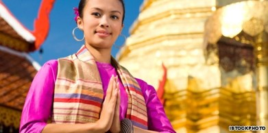 "There is a reason photos like this are found in almost any travel brochure about Thailand.  The people are incredibly polite and welcoming.  You are greeted with a ""Wai"" (hands held in prayer pose) and a friendly greeting when you enter nearly any business in Thailand."