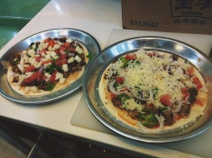 My latest food and nutrition dish: Jamaican Pizza