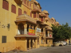 The Pink City, where citizens paint their homes pink to honour a special historical visit of kings