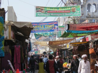 The market in Pushkar