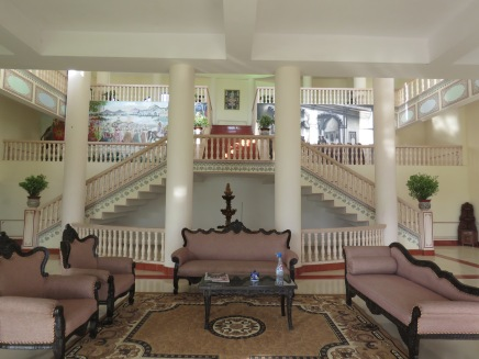 The lobby in our hotel/haveli in Pushkar