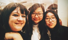 Me with Ivy and Sherry! I work with these lovely ladies. They are both fantastic teachers and some of my closest Chinese friends.