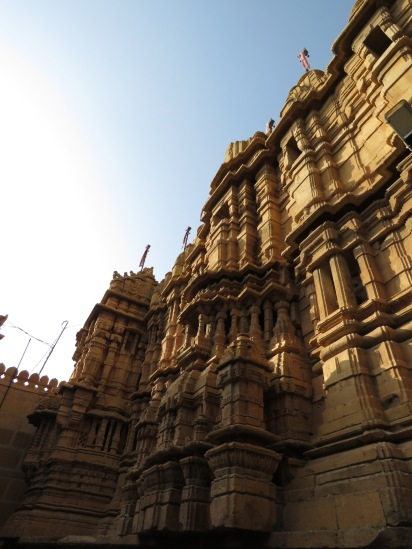 The Golden City, where everything is made of sandstone.