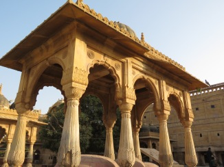 A stable in Jaisalmer