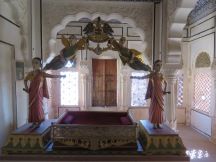 A cradle for young Jodpur princes