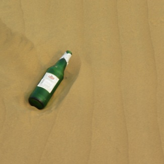 Even the desert is dirty in India :(