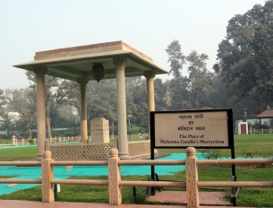 There is also plenty to see in terms of more modern events. Visiting Gandhi's memorial was an educational stop