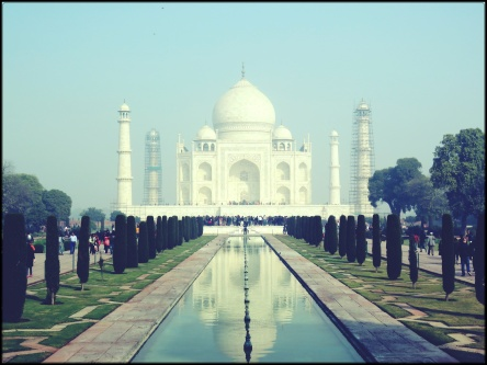The Taj Mahal is a wonder to behold