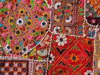 Traditional Rajasthani stitching