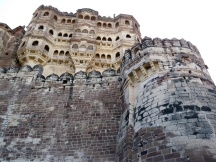Built over the course of hundreds of years, you can actually see that the newer parts of the fort have been built on top of the older parts