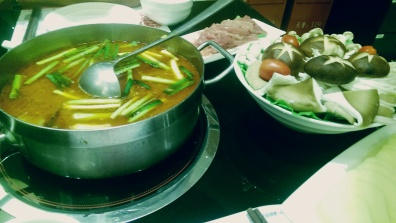 Hot pot is probably our most regular food in China.