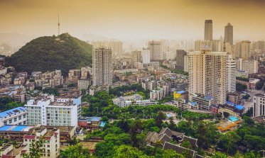 Guiyang is lush and surrounded by rugged beauty