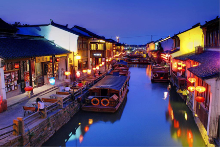 Water-town-in-Suzhou-China