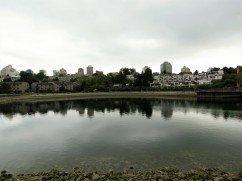 The view along the walk to Granville