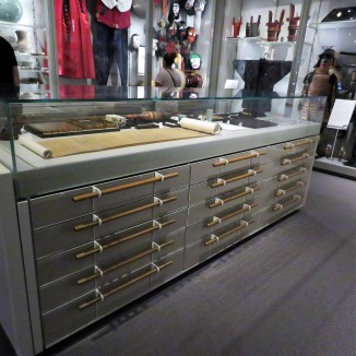 Each of these drawers contained nearly 50 artifacts.