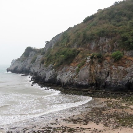 One of Cat Ba's beaches