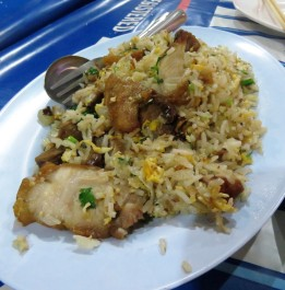 Some of the best fried rice I've ever had!