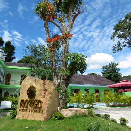 Mango Resort was a clean and beautiful place to spend the week
