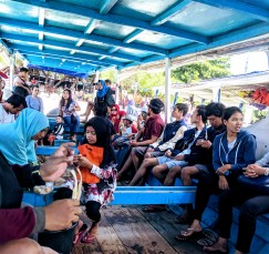 Of course, the ferry to and from Gili was quite the experience!