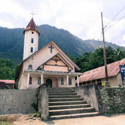 We learned that Samosir Island is primarily Christian