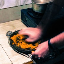 We even hand ground the Sambal by hand. They assured us it tastes better that way.