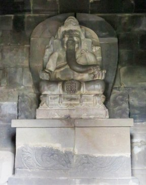 The Hindu god, Ganesh.