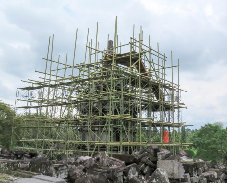 Reconstruction and upkeep are essential for sites as old as Prambanan.