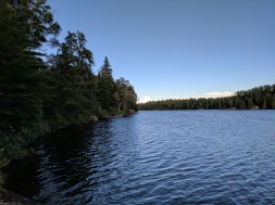 I miss lakes and trees....and quiet.