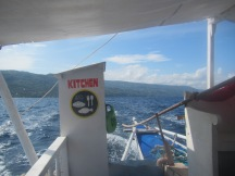 This was a cheaper option than booking with the Resort's boat, which was 2500 pesos PER PERSON.