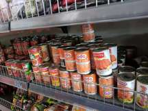 Canned food is something Dave and I hardly ever touch